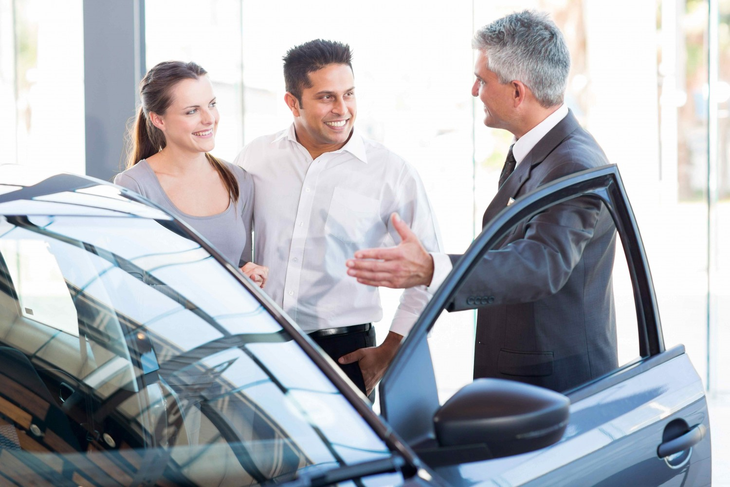 show your car to potential buyers