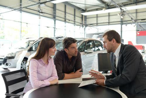 car dealer assist the buyers and show some best diesel cars