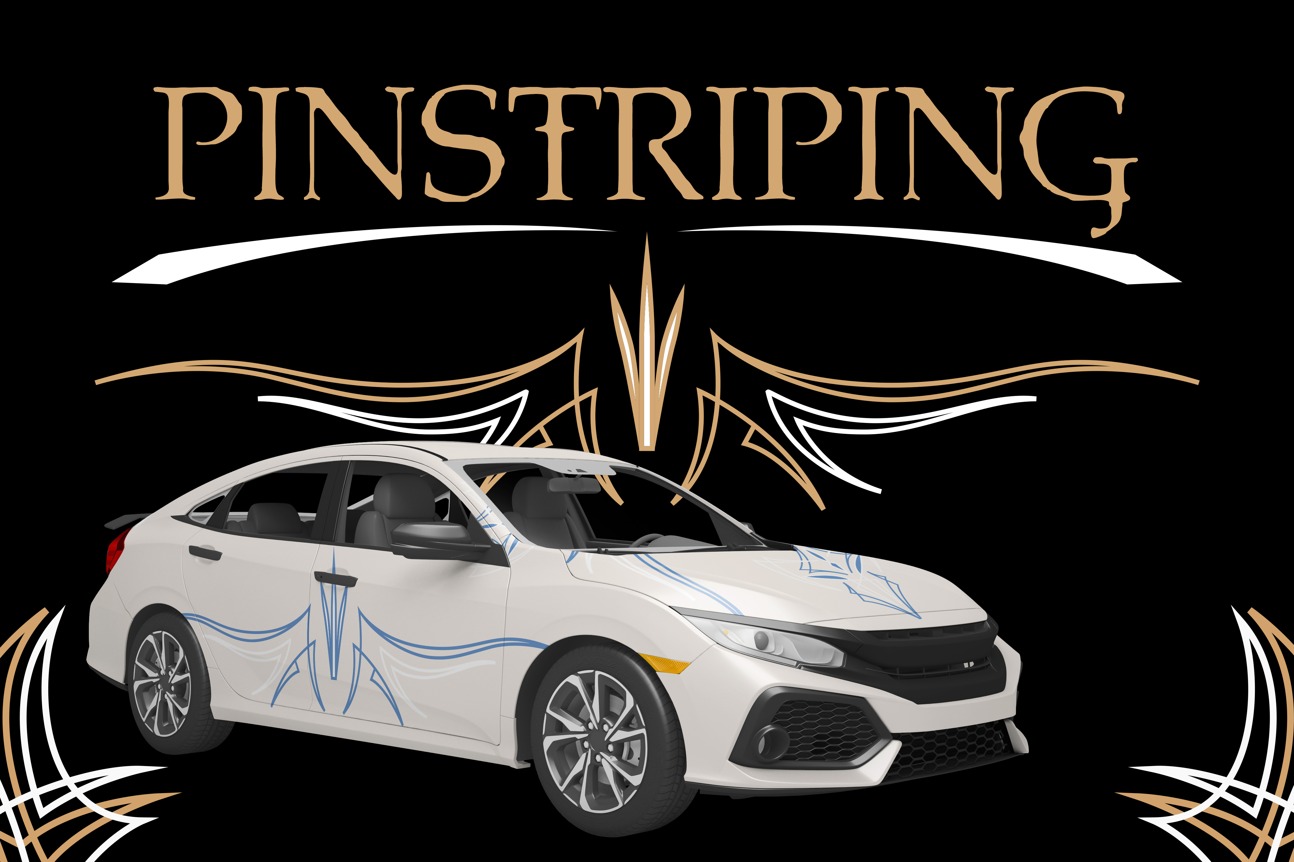 Your Guide To Car Pinstriping